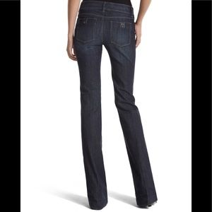 White House Black Market Jeans - WHBM The Hipster Trouser Blanc Jean Size 6P